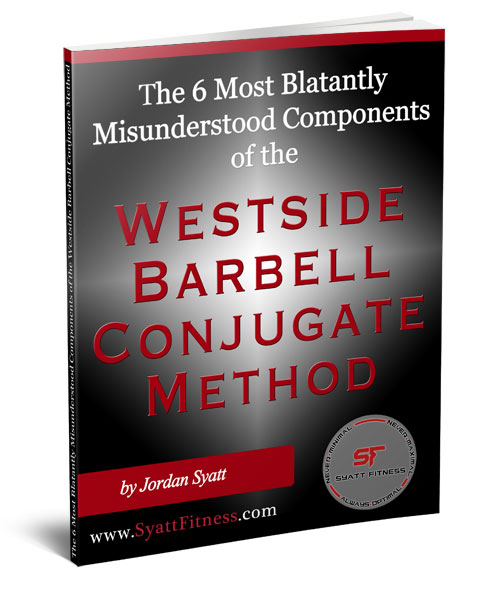 The Conjugate Method For Powerlifting A User S Guide