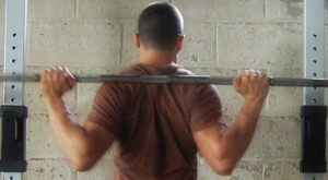 This requires a great deal of shoulder external rotation