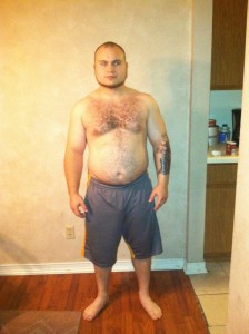Kyle Before at 230lbs