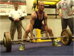 My World Record 3.7x bodyweight Deadlift. 485lbs at a BW of 132lbs.