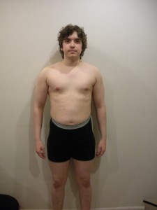 Shamus before at 145lbs