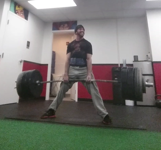 I'm now one of the only people in the world to deadlift 4x my bodyweight