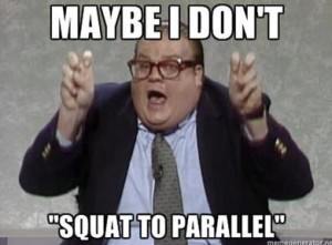 Maybe I Don't - Squat to Parallel