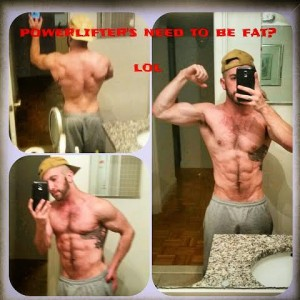 I maintain 8-9%  body fat year-round