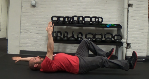 dead bug ab exercise