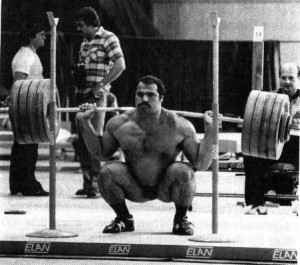 heavy squat