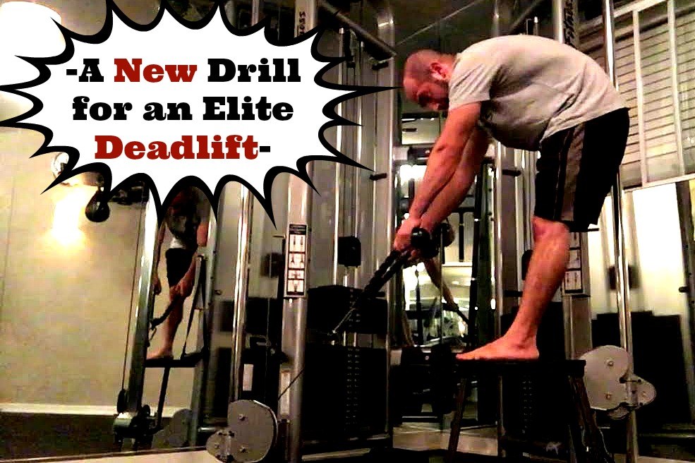 New Deadlift Drill for Advanced Lifters: Cable Lumbar Extensions